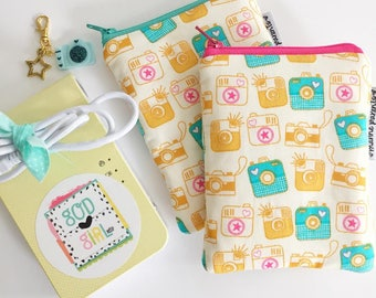 pocket printer zipper pouch