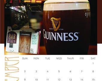 2018 Calendar, Ireland,  Slainte, Connemara, Celebrate, New Year, Sailing, Skelligs, Ring of Kerry, Rainbows, Mountains, Cow, Donkey, Month