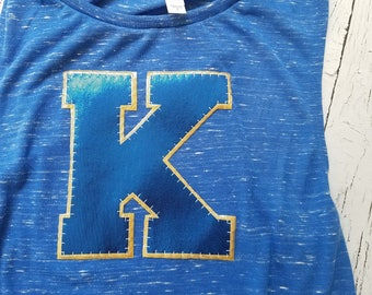 Kearney bearcats tank top, Kearney Nebraska, High School, Spirit t shirt, t-shirt, bearcats, sports, k, cats