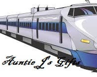 Cross Stitch PATTERN graph for high speed train