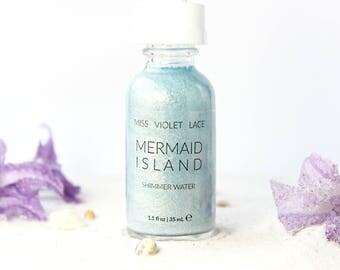 Mermaid Island Shimmer Water | Light Body Shimmer | Natural + vegan | SPECIAL EDITION