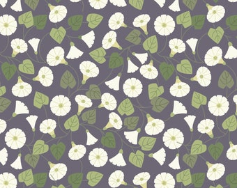 Granny-pop-out-of-beds On Warm Grey  A254.3 - THE HEDGEROW - Lewis and Irene - By the Yard