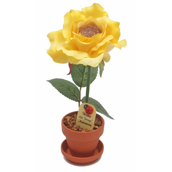 Brass Gifts For Wedding Anniversary: 8th Anniversary Gift Bronze Rose