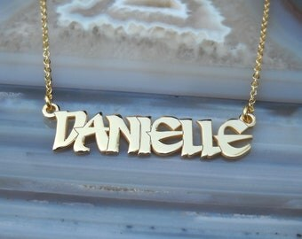 Personalized Name Necklace - Custom Name Necklace - Nameplate Necklace - Personalized Name Jewelry - Name Necklace