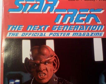 Star Trek the Next Generation Official Poster Magazine