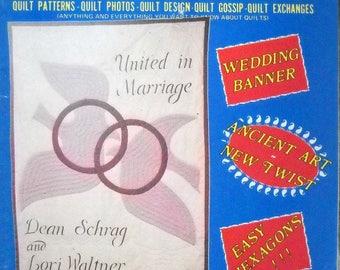 Quilt World Magazine Vintage August 1985 Quilting Patterns