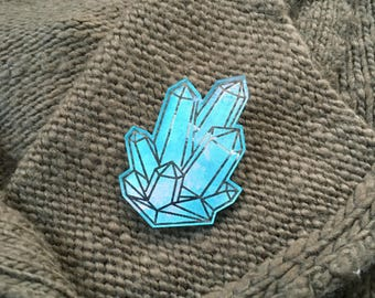Gem Pin Aqua ( Sample )