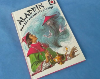 Aladdin and his Wonderful Lamp - Vintage Ladybird Children's Classics - Series 740 Fables and Legends - Glossy Covers - 75p