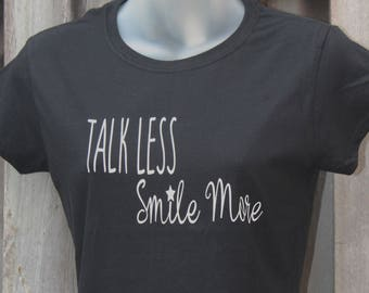Talk Less Burr Hamilton Shirt Musical Fashion