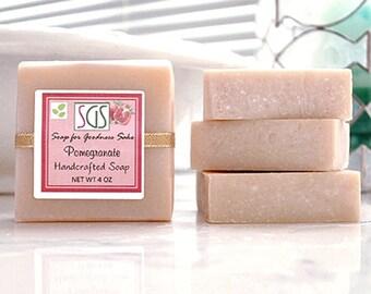 Soap for Goodness Sake Pomegranate Soap