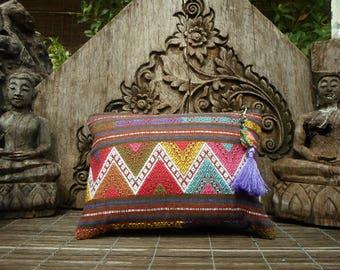 Hand Woven Tribal Textile Clutch Purse