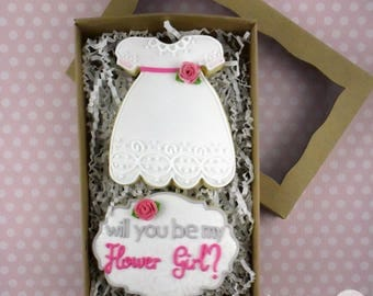 Flower Girl Sugar Cookies Box Set