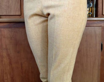1950-60's Wool Cigarette Pants Size Small