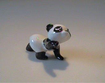 Vintage miniature Hagen Renaker baby panda bear