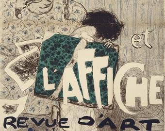 The Art of Pierre Bonnard. L'Estampe et l'affiche, 1897.  Fine Art Reproduction.