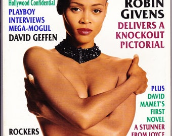 Vintage Playboy Magazine September 1994, David Green, Mega Mogul, Stephen King, Dave Berry, Robin Givens, Football, Vintage Playboy