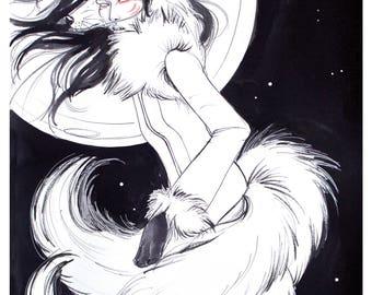 Kitsune Poster Print
