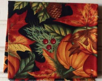 Give Thanks Pumpkin Fall Harvest Fat Quarter Quilter Cotton