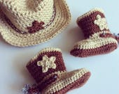 BABY || Cowboy Hat & Boots // Made To Order