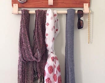 Wall Organizer - Coat Rack - Jewelry Organizer -