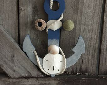 Nautical Anchor, Coastal Beach Decor