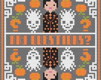 David S Pumpkins - PDF Cross-stitch Pattern - Instant Download