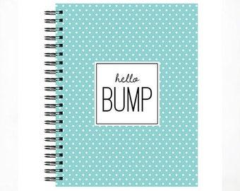 Hello Bump™ Pregnancy Journal, Pregnancy Book, Baby Bump, Bump Journal, The Sweet Rhino