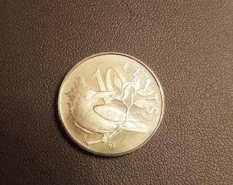 1973 British Virgin Islands 10 Cent PROOF  *dec17