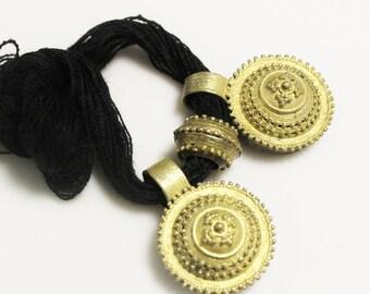 Nice Detailed Ethiopian Tigray Wedding Pendants, Ethnic Jewelry Supplies  (AM73)