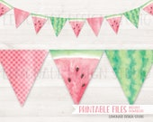 Watermelon Banner, PRINTA...