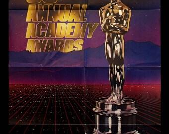 ACADEMY AWARDS original 1983 official poster OSCARS