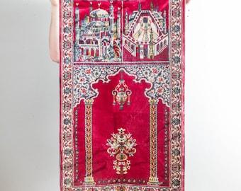 2x4 Vintage Muslaya Prayer Rug