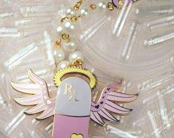 Pick Me Up Menhera Pill Necklace