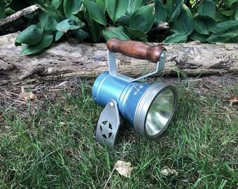 Star Headlight and Lantern Company Blue Metal Railroad Lantern