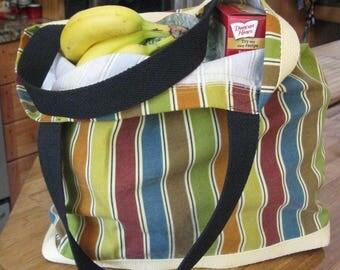 California Grocery/Shopping Awning Stripe
