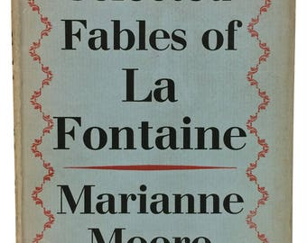 Fables of La Fontaine, Translated by Marianne Moore