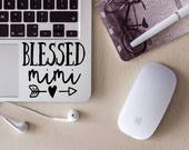 Blessed Mimi Vinyl Decal/Laptop Decal/Tumbler Decal/Car Decal/Laptop Sticker/Cup Decal/Car Sticker/Quote Decal
