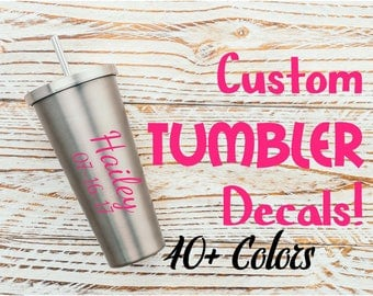 Tumbler Decal Etsy - Overnight decals from japan