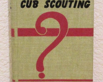 How Book of CUB SCOUTING 1963 Printing