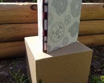 Hand bound sketchbook