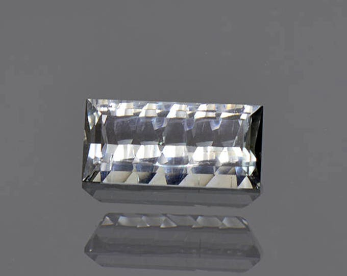 Lovely Silvery Blue Tourmaline Gemstone from Brazil 2.03 cts.