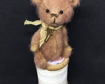 Timmy - One of a Kind Miniature Artist Bear