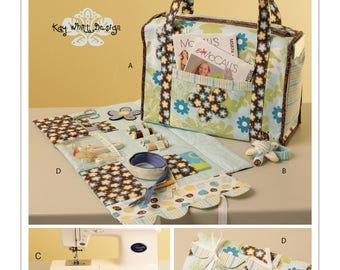 Project Tote, Organizer, Pin Cushion and Machine Apron Pattern by McCall's Crafts M5817