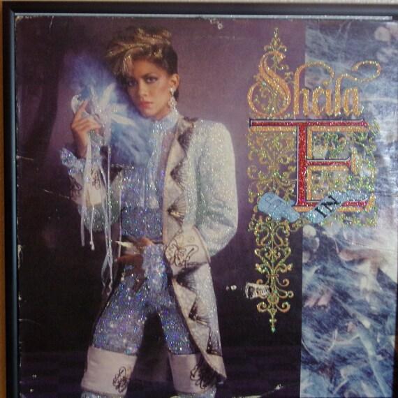 Glittered Record Album - Romance In 1600 - Sheila E