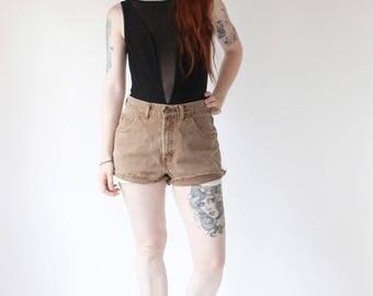 Vintage High Waist Denim Shorts Vintage Lee Jean Shorts Jean Cut Off Shorts 90s Blue Jean Shorts High Waist Blue Jean Shorts