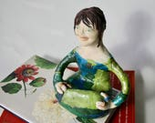 Sitting Elf / Pixie OOAK...