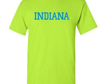 Indiana Hoosiers Basic Block Neon T-Shirt