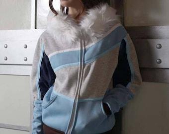 Mei Overwatch Cosplay Costume Coat Hoodie Jacket