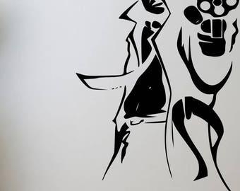 Gunslinger Decal