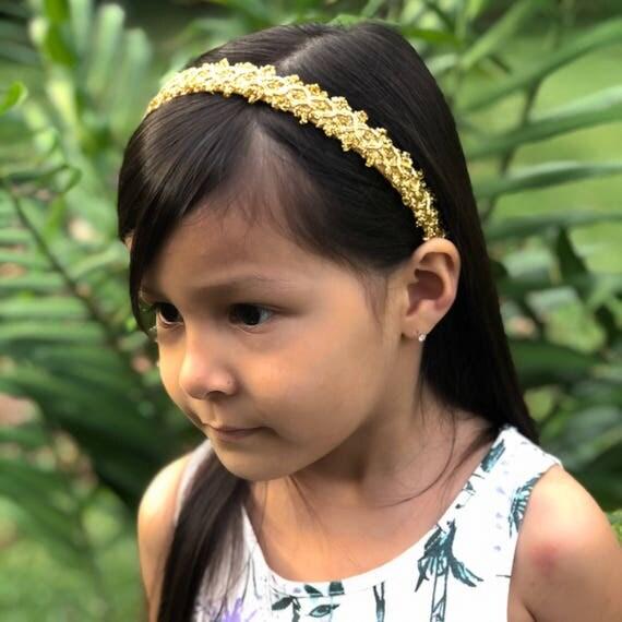 Gold Headband, Gold Headband Baby, Gold Headpiece, Gold Headband Adult, Thick Gold Headband, Gold Headband Toddler, Gold Headband Crown